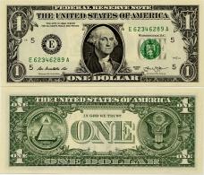 U.S.A.       1 Dollar       P-New       2013       UNC  [letter E: Richmond] - Federal Reserve Notes (1928-...)