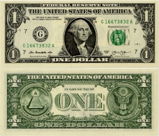 U.S.A.       1 Dollar       P-New       2013       UNC  [letter G: Chicago]