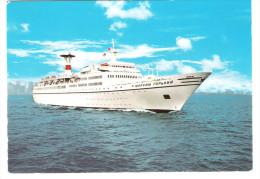 "Russia Liner - T. S. - TS  "" Maxim Gorki "" - Schiff - Ship - Dampfer - Dampfer"