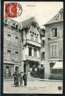 CPA - LANNION - Vieille Maison - Café Quenven Leberre, Animé - Lannion