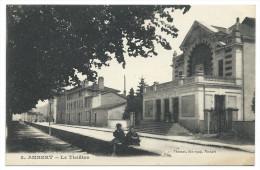 AMBERT (Puy-de-Dôme) - Le Théâtre - Animée - Ambert