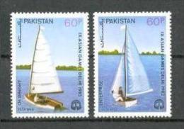 1983 PAKISTAN YACHTING CHAMPIONSHIP MICHEL: 607-608 MNH ** - Pakistan