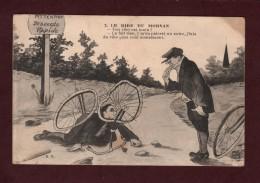 CPA - A TRAVERS LE MORVAN - Collection Roubé -n°2 -Illustrateur - Fantaisiste & Humour  - 2 Scannes. - Humour