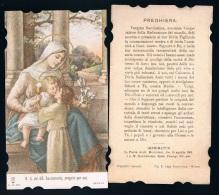 S188-Santino Nostra Signora Del SS Sacramento, Lega Eucaristica Serie N.9130 Holy Cards - Religione & Esoterismo