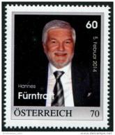 ÖSTERREICH / PM Nr.8109257 / 60. Geburtstag Hannes Fürntratt / 70 Cent / Postfrisch / MNH / ** - Personalisierte Briefmarken