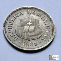 República Dominicana - 1 1/4 Centavos - 1888 - Dominicaine