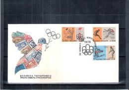 FDC Grèce - JO 1976 Montréal (à Voir) - Ete 1976: Montréal