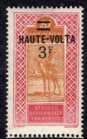 Haute Volta  N ° 38 X  3 F.  Sur 5 F.  Rose Et Jaune-brun Trace De Charnière Sinon  TB
