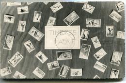 T. A. A. F. CARNET NON REFERENCE COMPORTANT LES TIMBRES INDIQUES SUR LES DEUX PREMIERES PAGES OBLITERATION SAINT-PAUL... - Booklets