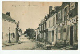 CPA Loir Et Cher - 41 - Oucques ( Carte Déchirée Bord Haut Voir Scan ) - France