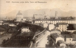 TOSCANA-PISA VEDUTA PANORAMA INTERNO  VEDUTA DALLA TORRE DELL'AMANZATORE - Pisa