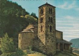 CPSM 10X15 .  ANDORRE . CANILLO . Eglise De St Jean De Caselles (XI° S. ) - Andorre