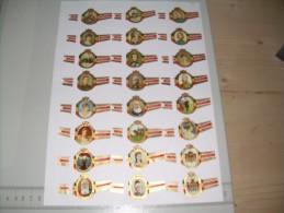 Sigarenbanden Mercator Koninklijke Familie - Bagues De Cigares