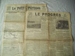 WW1 / LOT JOURNAUX DE GUERRE / 1915 et 1917 / L4