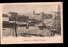 13 MARSEILLE Port, Bassin Du Carénage, Vue Générale, Ed Lacour 84, Dos 1900 - Vieux Port, Saint Victor, Le Panier