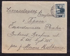 E-USSR-08 LETTER FORM MOSCOW TO PRAHA 21.03.1931