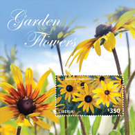 LIBERIA  IGPC # 1436 S ; MINT N H STAMPS OF NATIONAL GARDEN FLOWERS - Liberia