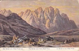LIBAN - Der Serbal Vom Wadi Firan Aus - Libano