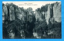 OV1.1008, Sächs. Schweiz, Basteibrücke Vom Wehlgrunde, Non Circulée - Andere