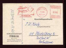 ÖSTERREICH,  AUSTRIA,  1965, FREISTEMPEL - 1945-.... 2nd Republic