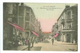 CPA 71 - MONTCEAU LES MINES - Rue Carnot (Au Pays Minier) - Montceau Les Mines