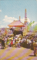 Indonesia Tempat Pembakaran Majat The Lembu In Wich The Remains Are Cremated - Indonesia