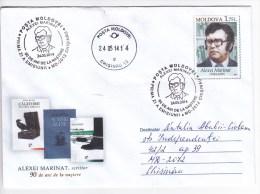 MOLDOVA  MOLDAVIE MOLDAWIEN  MOLDAU ; 2014 , A.Marinat , Writer , Pre-paid Envelope , FDC - Moldova