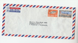 Air Mail SINGAPORE  Stamps COVER To Germany - Singapore (1959-...)