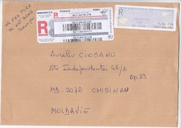 France , 2015 , Used Cover - France