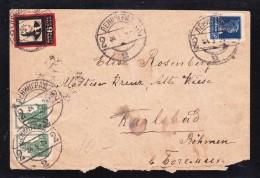 E-USSR-73  LETTER FROM LENINGRAD TO KARLSBAD 25.05.1924