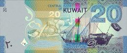 KUWAIT P. 29/34 SET 2014 UNC - Koeweit