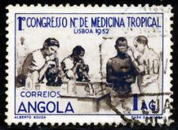 !■■■■■ds■■ Angola 1952 AF#351ø Tropical Medicine 1st Congress (x5822) - Angola