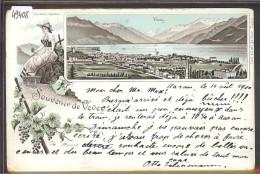 DISTRICT DE VEVEY /// VEVEY - LITHO - TB - VD Vaud