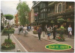 K3047 Exeter - High Street / Viaggiata 2001 - Exeter