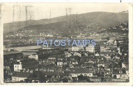 6332 ITALY TRIESTE FRIULI VIEW PANORAMIC YEAR 1924 POSTAL POSTCARD - Italie