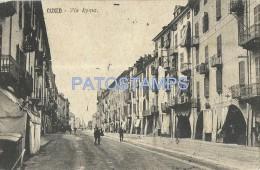 6342 ITALY CUNEO PIAMONTE STREET ROMA BREAK YEAR 1913 POSTAL POSTCARD - Unclassified