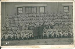 Carte Photo Militaire Belfort 1911 - Guerre 1914-18
