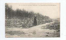 Cp , Militaria , La Grande Guerre 1914-18 , Le Cimetière De SUIPPES , Marne , écrite , Ed : Baudinière 980 - Soldatenfriedhöfen