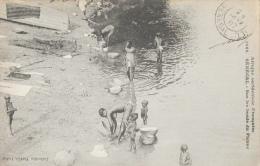 Afrique Occidentale - Sénégal - Sur Les Bords Du Fleuve - Collection Fortier - Carte Non Circulée (mais Tamponnée) - Africa