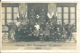 Carte Photo Militaire  Hopital Temporaire D'uriage 1914 - Oorlog 1914-18