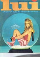 Magazine LUI - N° 50 - Février 1968 - La Conquète De L´espace -        (3903) - Livres, BD, Revues