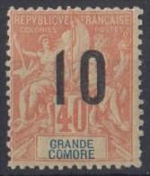 GRANDE COMORE  N** 26  Dent Courte - Grandi Comore (1897-1912)