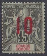 GRANDE COMORE  N* 27   Dent Courte - Grandi Comore (1897-1912)