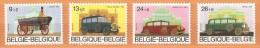 COB  2232/2235  (MNH)  (Lot 385) - Belgique
