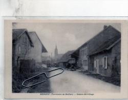 90 MEROUX  Centre Du Village    CARTE RARE            D349       1/4/15 - Zonder Classificatie