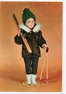Poupées Collection Combier CIM Skieuse - Personnages