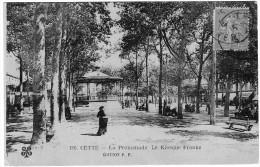 CETTE LA PROMENADE LE KIOSQUE FRANKE - France