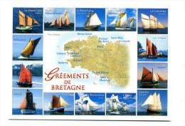 Vieux Gréements De Bretagne - Voiliers
