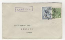 Australien Brief nach Deutschland 1935