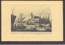 9352-LA LAGUNA DI VENEZIA-ISOLA DI S.MARIA DEL MONTE-DA INCISIONI DEL 1700-FP - Venezia